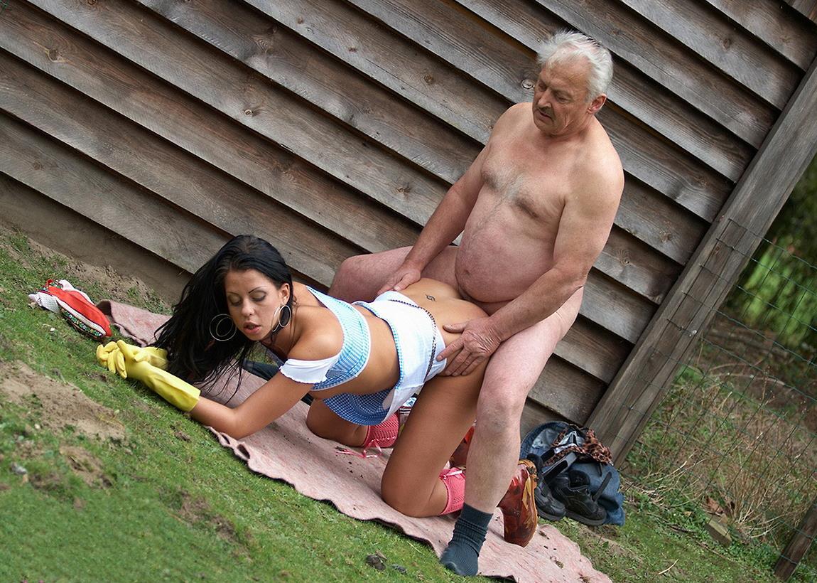 старые мужики с молодыми порно