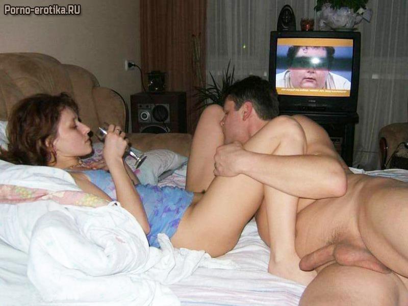 Порно русское-любовники в спальне — photo 5