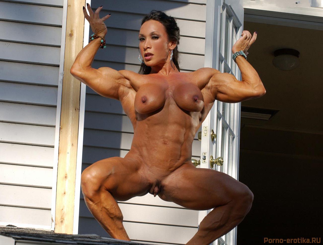 Накачаные голие женщины фото 527-783