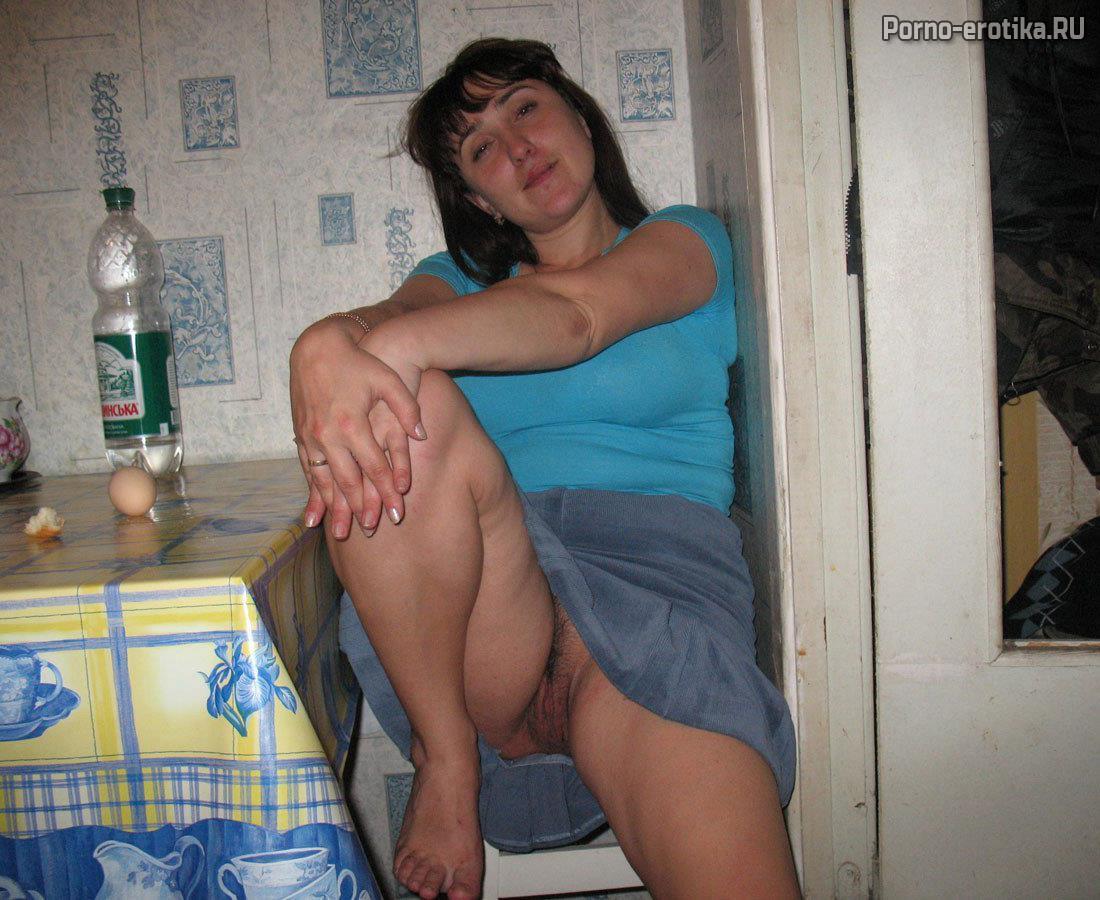Жена без трусиков на кухне фото 169-90