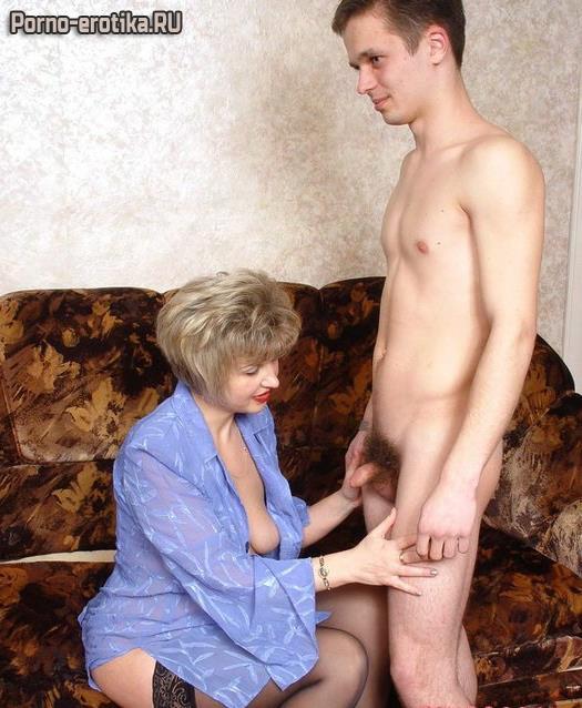 член рассказы сына зажала мать