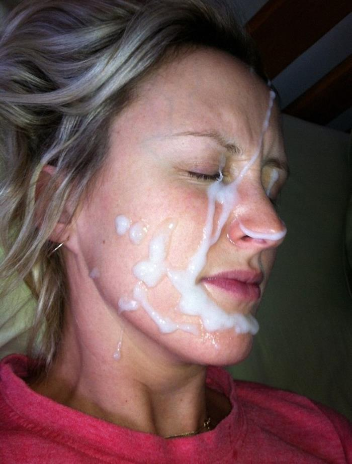 картинки женщин со спермой на лице очень люблю