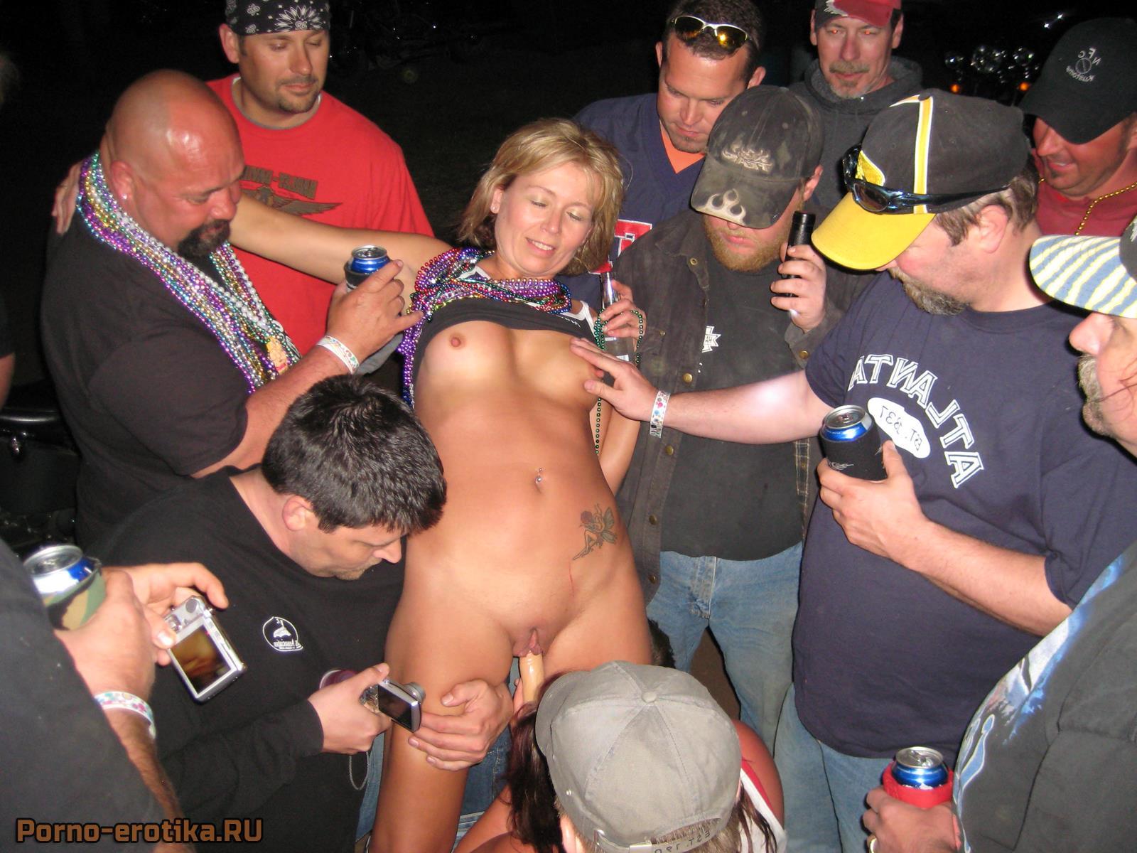 съёмки пьяных шлюх