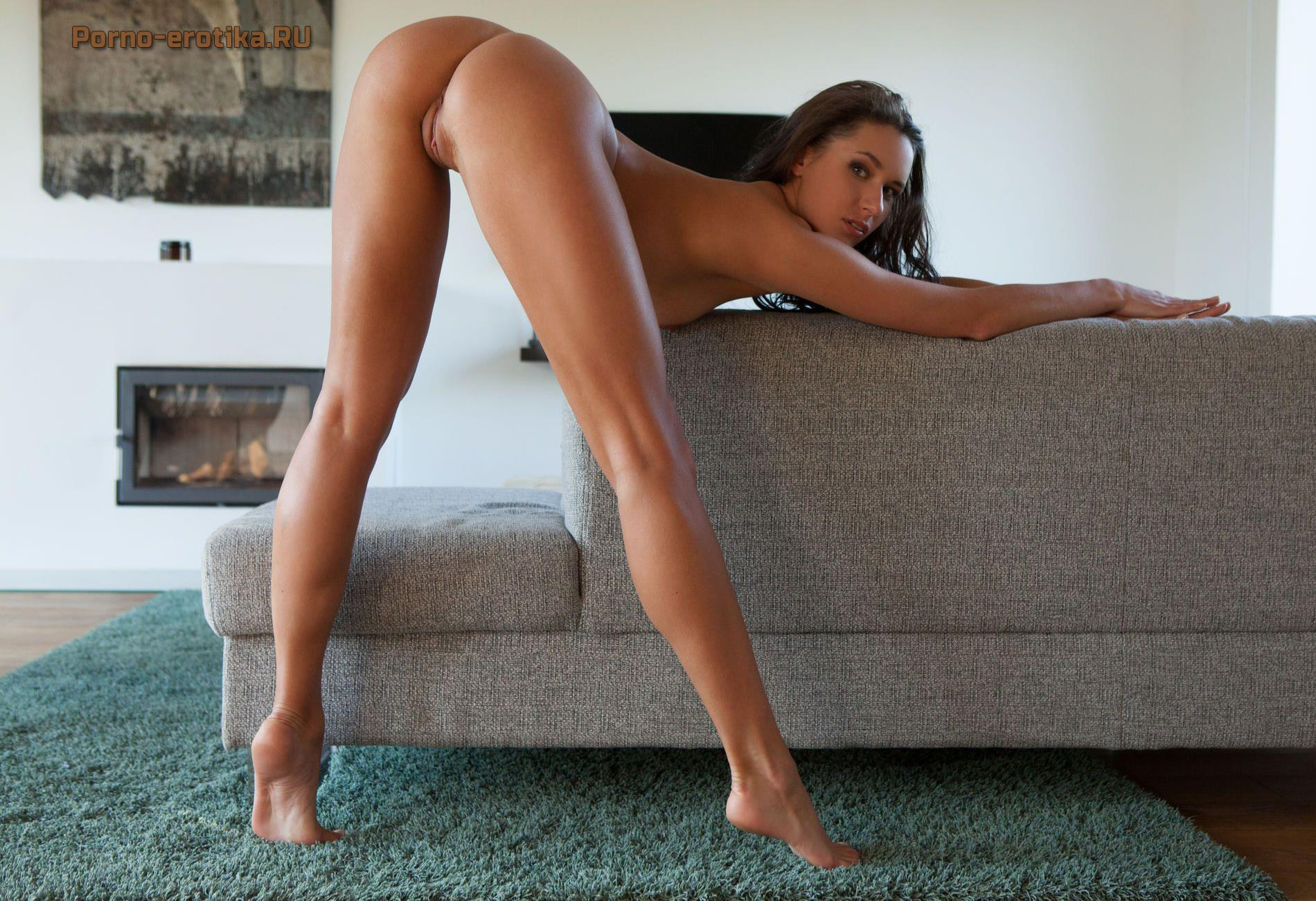 Порево с длинными ногами