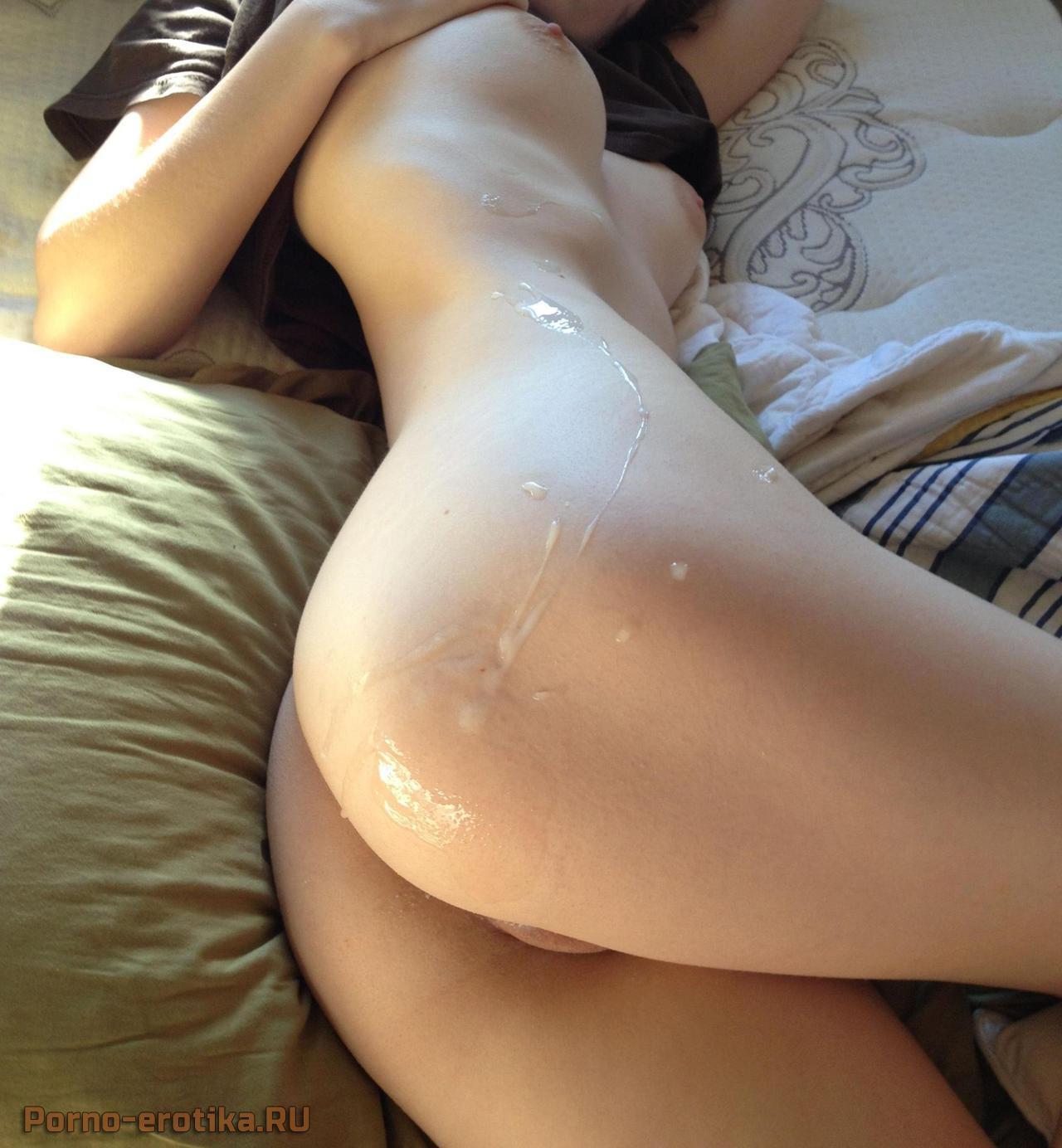 очень красивые попки в сперме фото