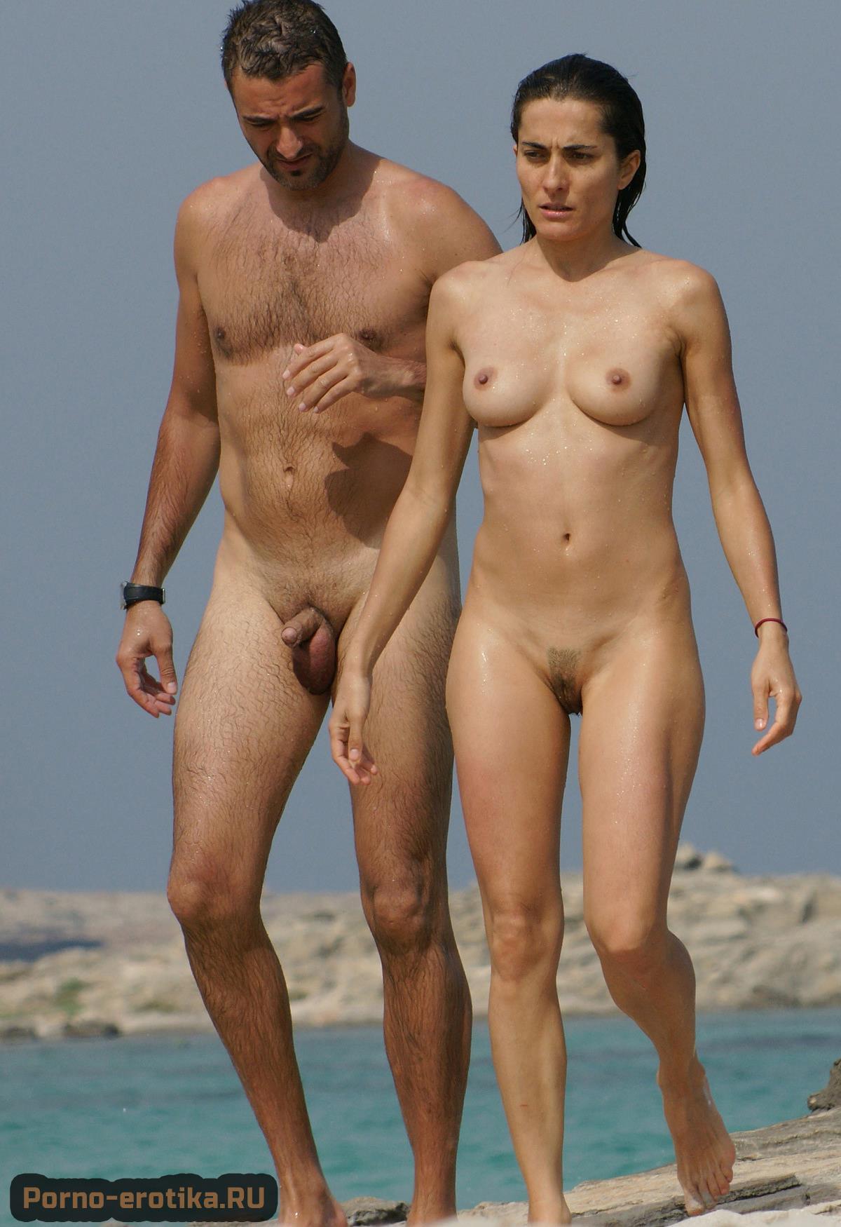 Голые пары нудистов