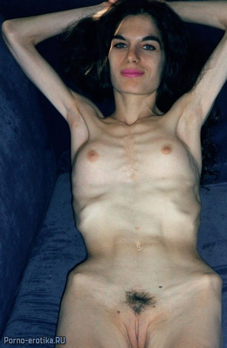 Anorexic naked