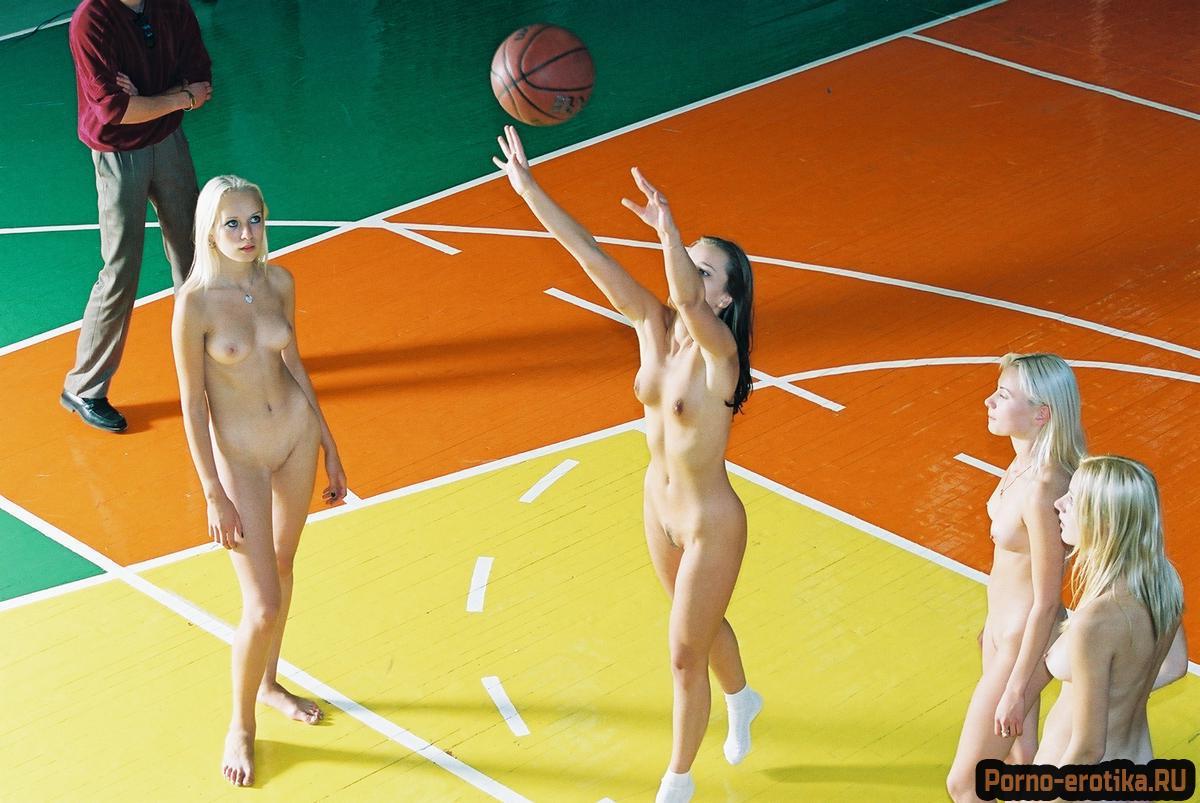 Порно играют в баскетбол #13