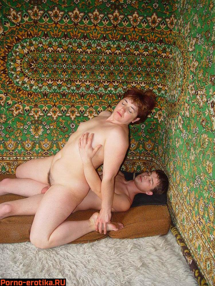 секс порно видео с тетей на даче - 13