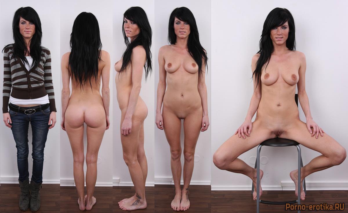 фото худых голых моделей