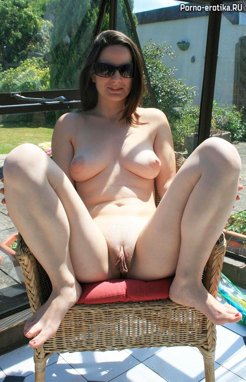 Naked Milf Outdoor