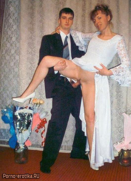 Развратные невесты совсем потеряли стыд - порно фото
