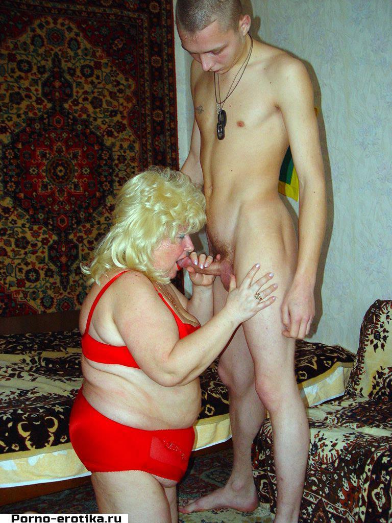 Порно жирная мать ебет сына