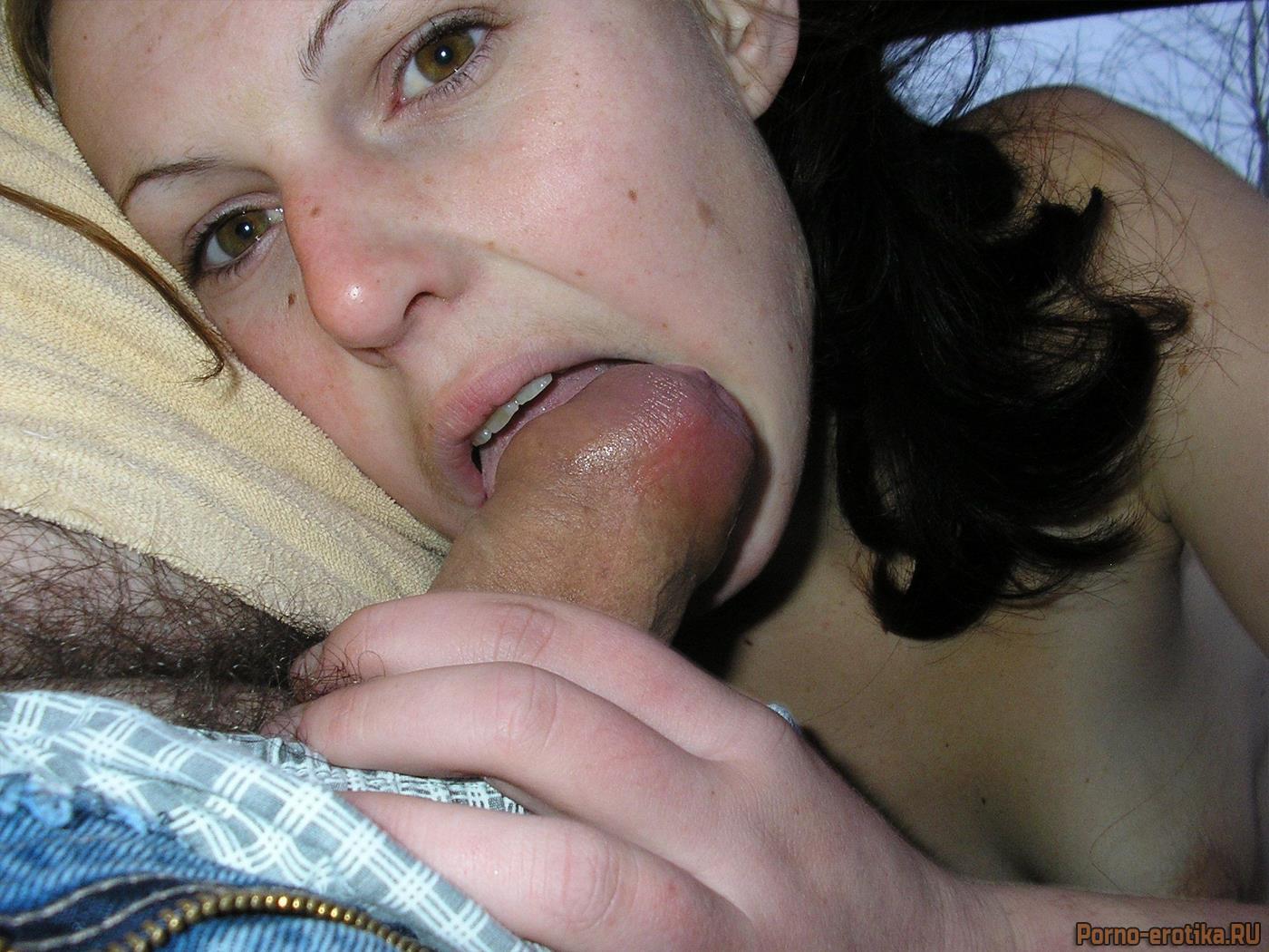 порно фото жён сосущих член