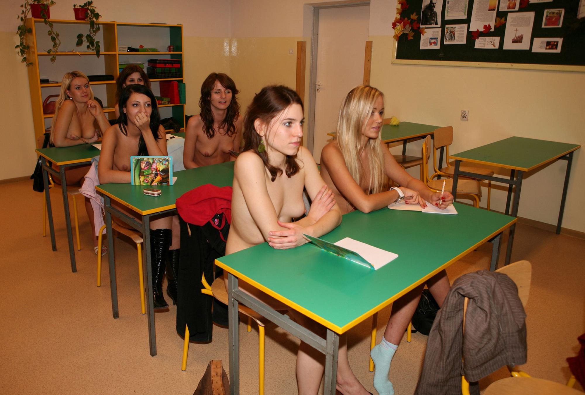 Nude girl goes to school, black masterbation gif