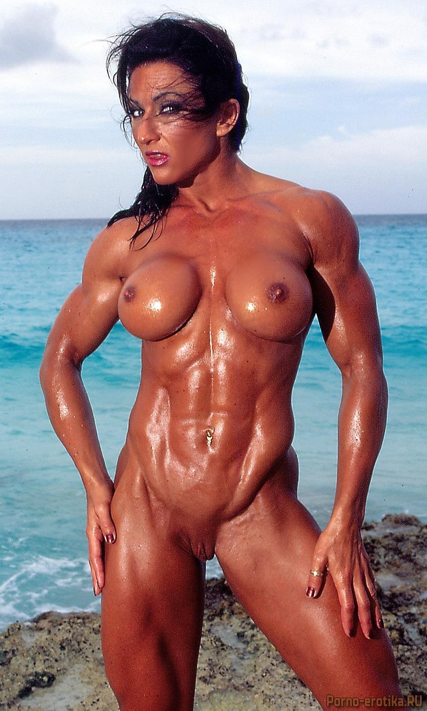 Спортивная женщина бодибилдер голая фото 28-388